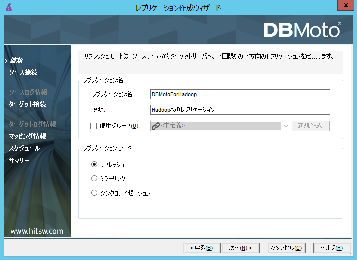 2_レプリケーションモード